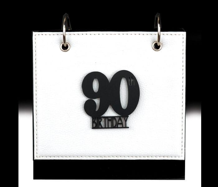 MTDAL-90LN $11.95 Designer Leather Flip Photo Albums. 36 Photos 4x6 Designed _ Decorated In Australia