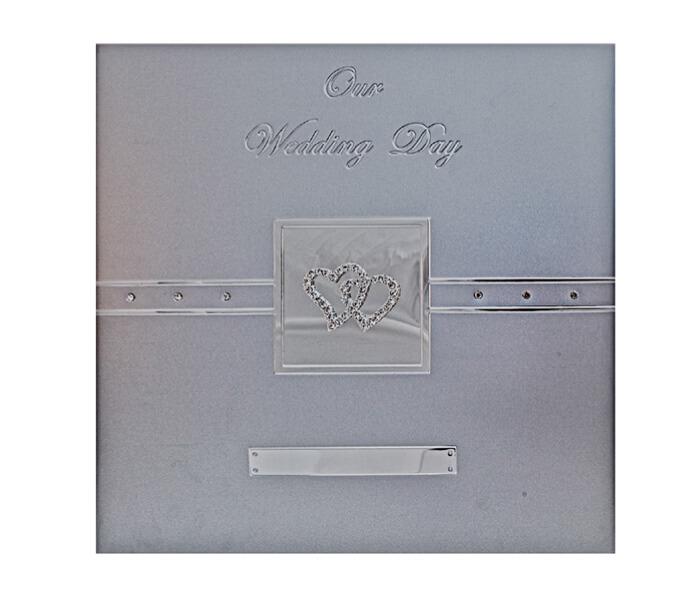 MTDW-AL Premium Wedding Aluminum Photo Album 33.8cmx33.2cm. 18 Self Adhesive sheets, Acid Free. Designed In Australia