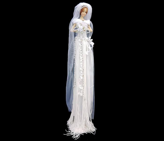 CD-15218 Porcelain Bridal Dolls 10.00