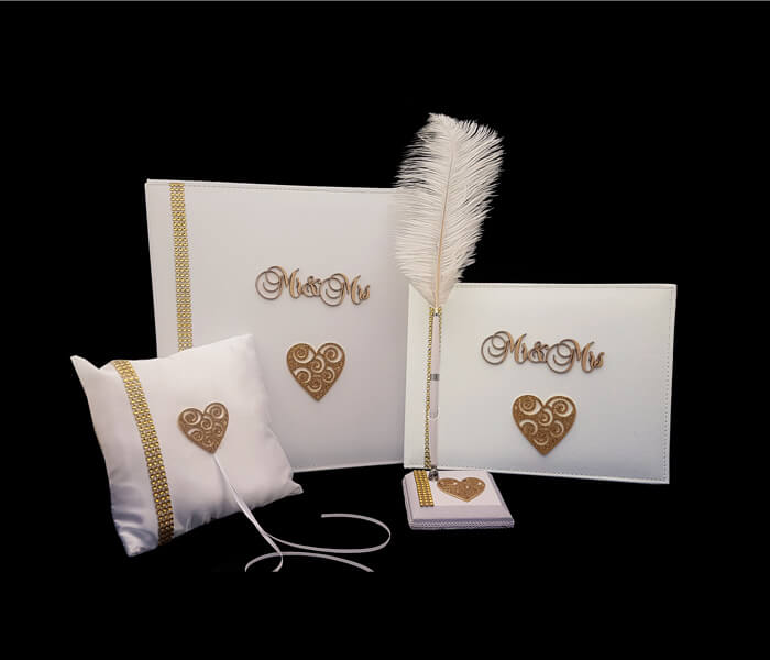 DIAMOND FILIGREE HEART GOLD RANGE (DFHG)