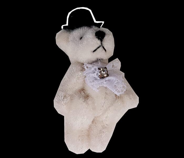 N4742 Bear Mini Groom Bear 6cm Long x 3cm Wide 1.50